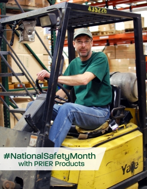 PRIER Takes On National Safety Month