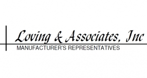 PRIER Announces a New Manufacturer's Representative: Loving & Associates