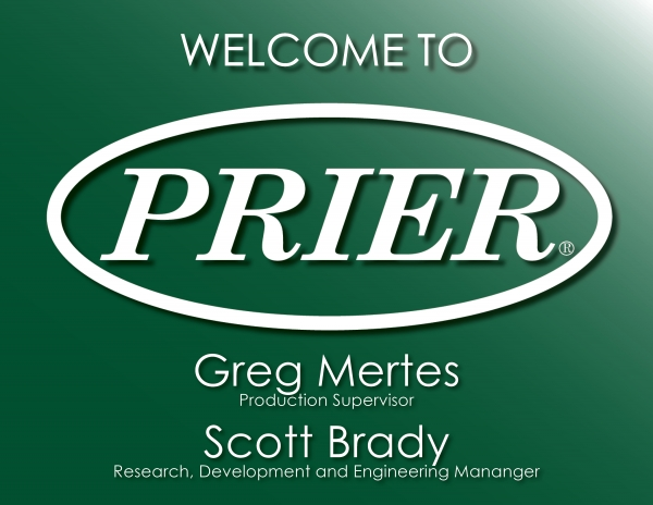PRIER Announces Two New Associates: Scott Brady and Greg Mertes