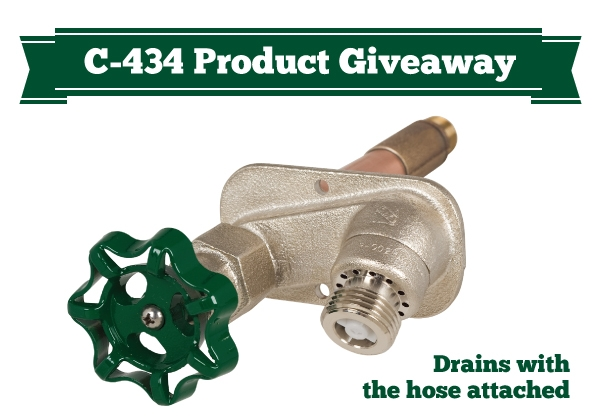 Product Giveaway: C-434 Self-Draining Hydrant