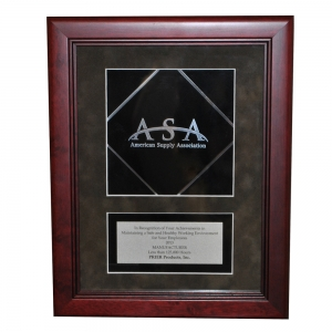 PRIER Proudly Receives 2013 Safety Award