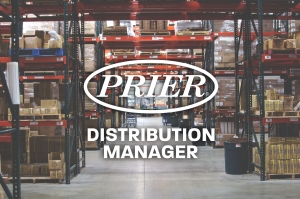 PRIER is Hiring: Distribution Manager